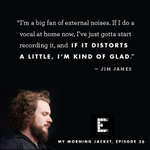 RT @SongExploder: Jim James of @mymorningjacket deconstructs their new song