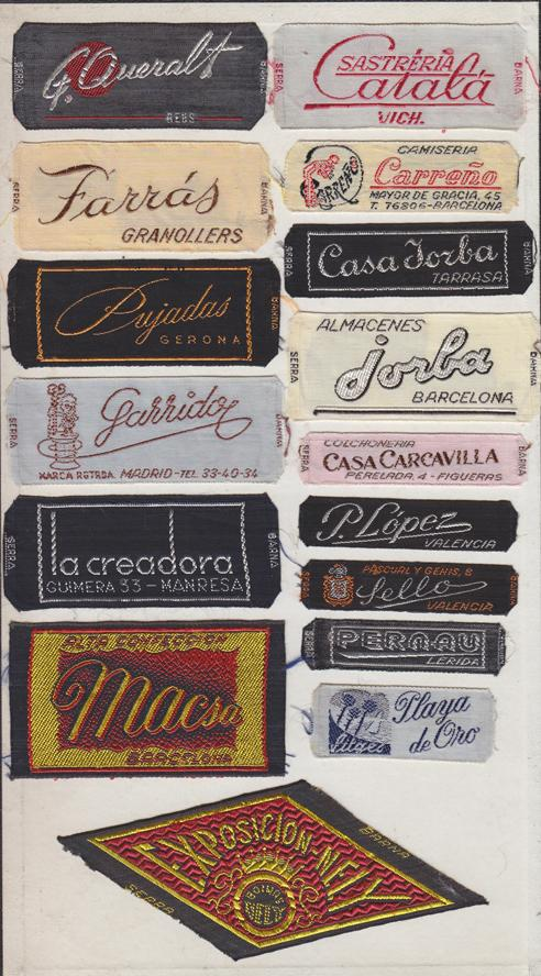 Embroidery: The forgotten typographic treasure. http://t.co/TzcaIi5MI1 see the labels. http://t.co/A5LtXfrQwf