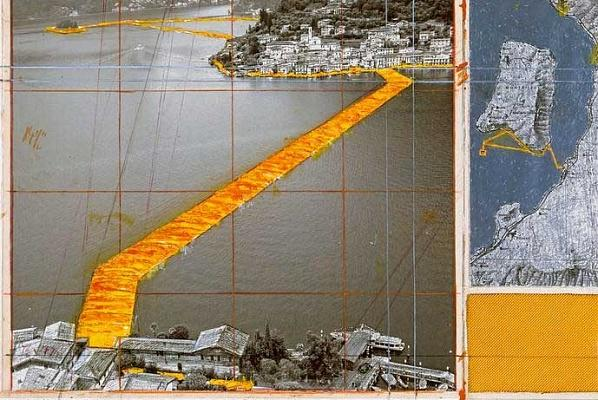 Christo invites public to walk on water http://t.co/ULjxT6fFvU http://t.co/YaIDCbFhG4