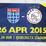 Three days until PEC Zwolle vs #Ajax! We need 1 point to reach the @ChampionsLeague qualifying round! #pecaja
