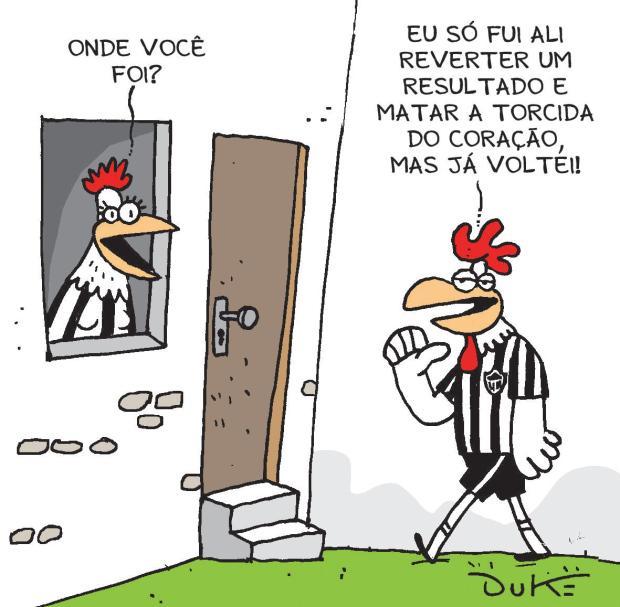 Com golaço de Rafael Carioca, atleticanos assistem à quinta queda do raio no Horto | http://t.co/VAanjuWu2e http://t.co/MgsIOl07dg