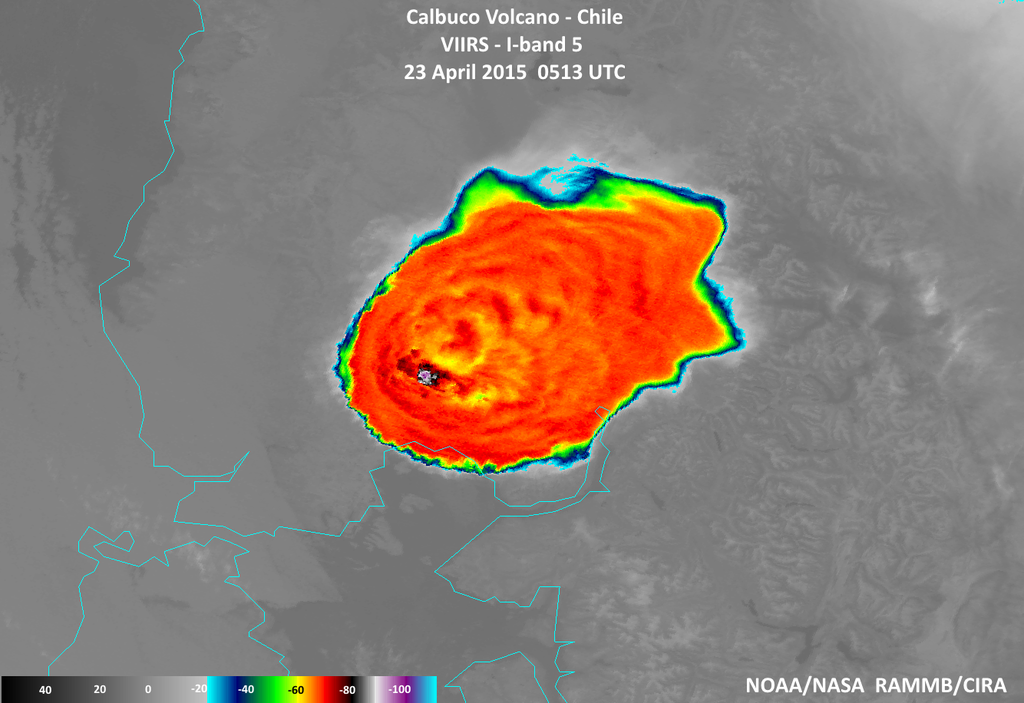 High resolution VIIRS satellite captured Calbuco eruption in remarkable detail, via @NOAA. http://t.co/nIZ2zUhKh7