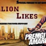 RT @vigneshyuvan1: @Premgiamaren  Official FB page reached 1 million :) #Masss