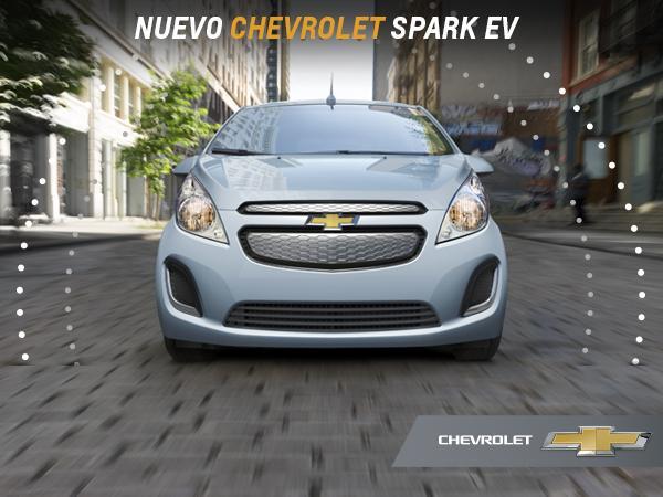 Llega a México el nuevo Chevrolet #SparkEV un auto 100% eléctrico. Más diversión, potencia y torque con 0 emisiones. http://t.co/wS4uNX0Rk8