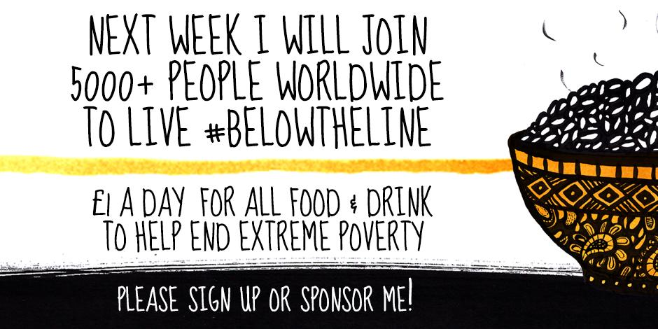 Next week 5K people go #belowtheline so others can rise above it. RT if you're joining us! http://t.co/zOSRJZhoZr http://t.co/aoXxpzbpqC