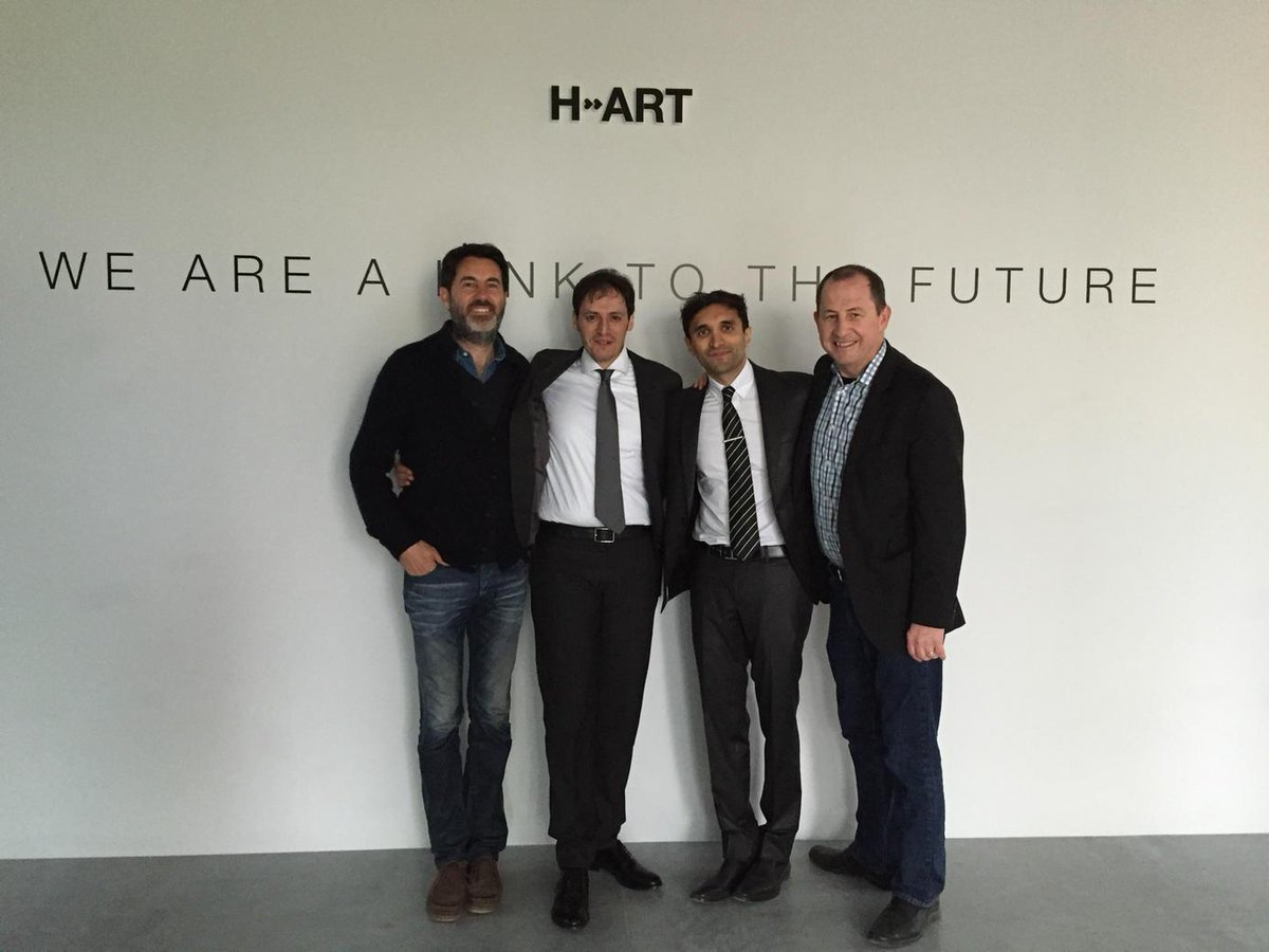 Proud day for us! @AKQA announces @HART_tweets joins the AKQA network. With @hfarmventures in Venice, Italy http://t.co/eqW8aO22rm