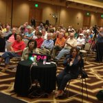 This is part of the crowd at the Biloxi Civic Center for the mayoral forum. Watch now on http://t.co/1vXfFkiC4y http://t.co/fIKh1ENU0Q