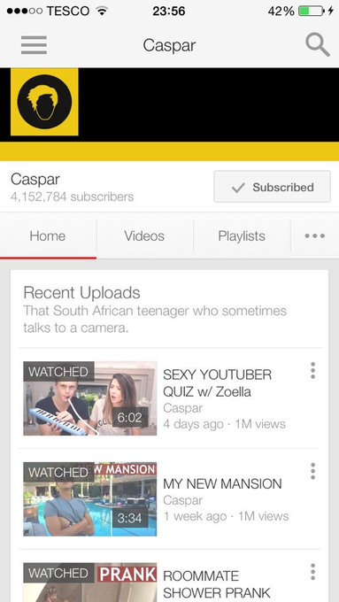 Happy 21st Birthday to one of my favourite YouTubers ever  everyone go and subscribe to his channel