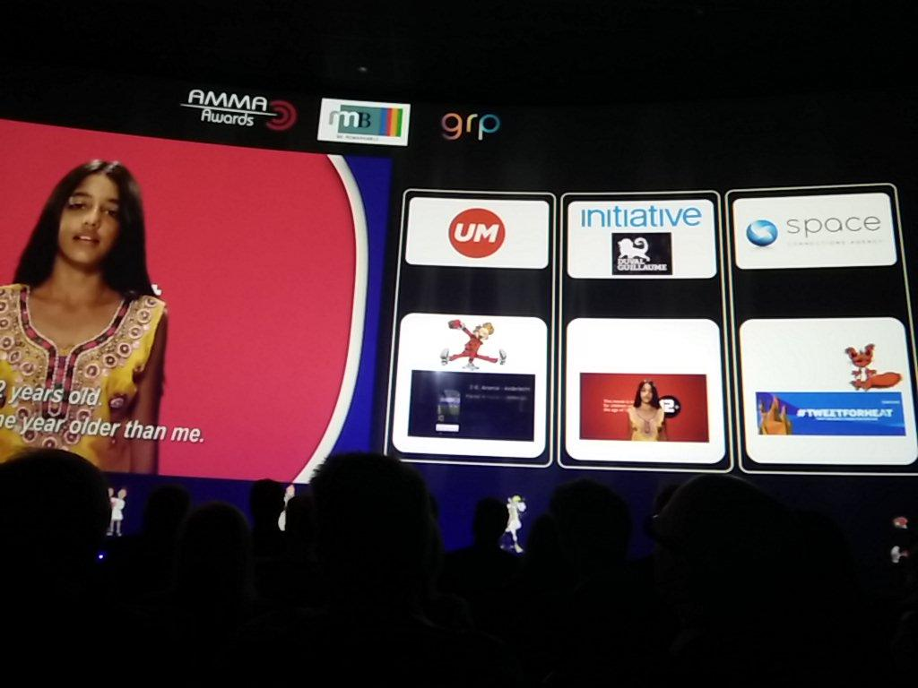 mediabrands wins two #Amma15 awards in best creative media use: Gold for Initiative, bronze for UM http://t.co/wJIuOpuvB7