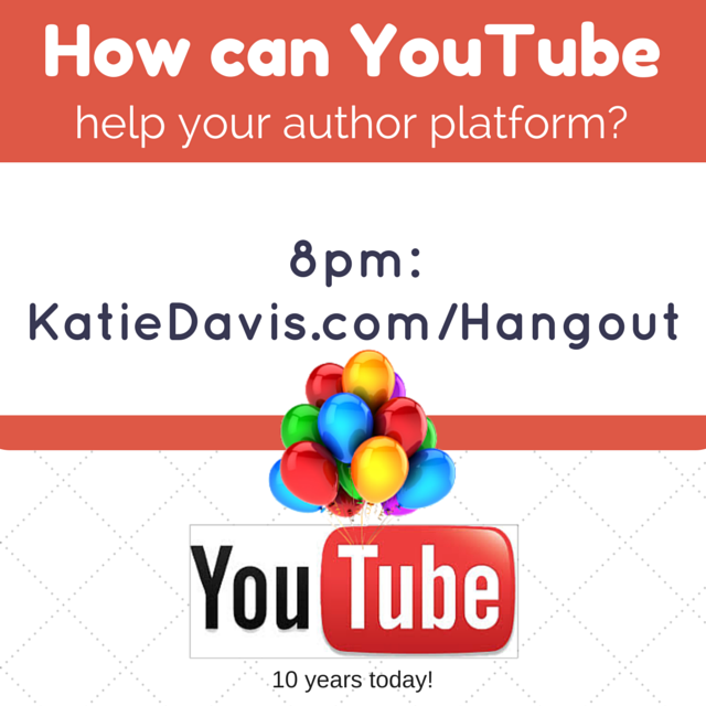 #Writers-build your platform using video (& more!) Free Q&A tonight 8pmET http://t.co/cJsiKDHb75 #indieauthor http://t.co/veiTLjjcqC