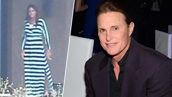 Padrastro de Kim Kardashian se muestra por 1ra vez vestido de mujer