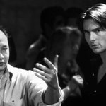 Director John Woo and I on the set of #MissionImpossible II. #TBT