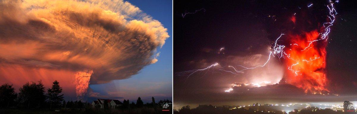The #Calbuco #volcano erupts near Puerto Varas, #Chile: http://t.co/ibE7PwjmsJ http://t.co/ei8xRch2RQ