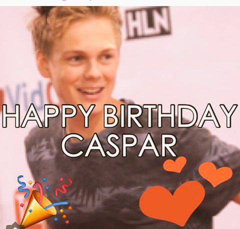 HAPPY BIRTHDAY CASPAAAR!!!) WE LOVE U <3