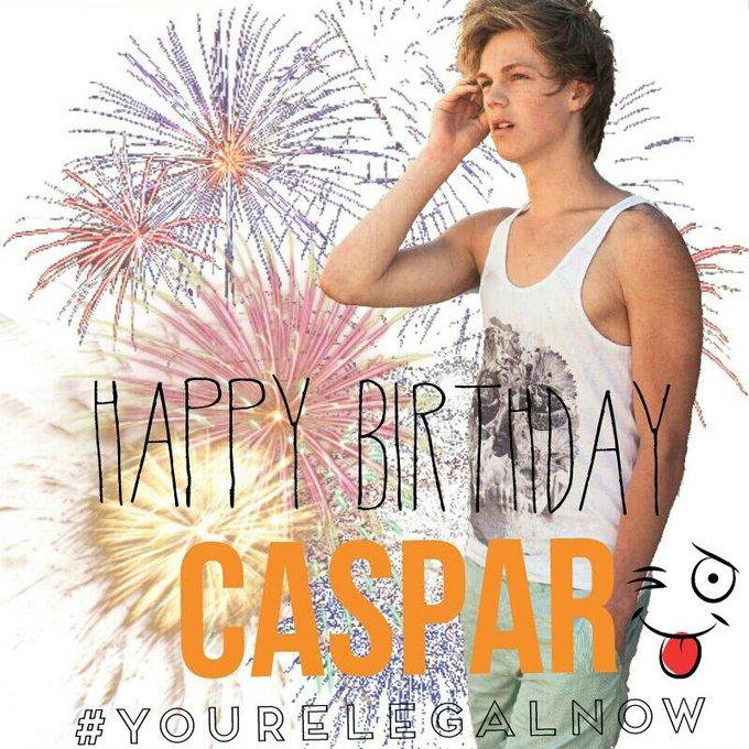 HAPPY BIRTHDAY CASPAR