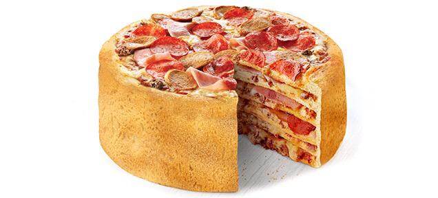 HAPPY BIRTHDAY Here\s a pizza-cake just for you.