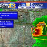TORNADO WARNING now issued for Prowers Co. until 6:30. No report of tornado on the ground. Moving E at 20mph #cowx http://t.co/MOEUtklgXU