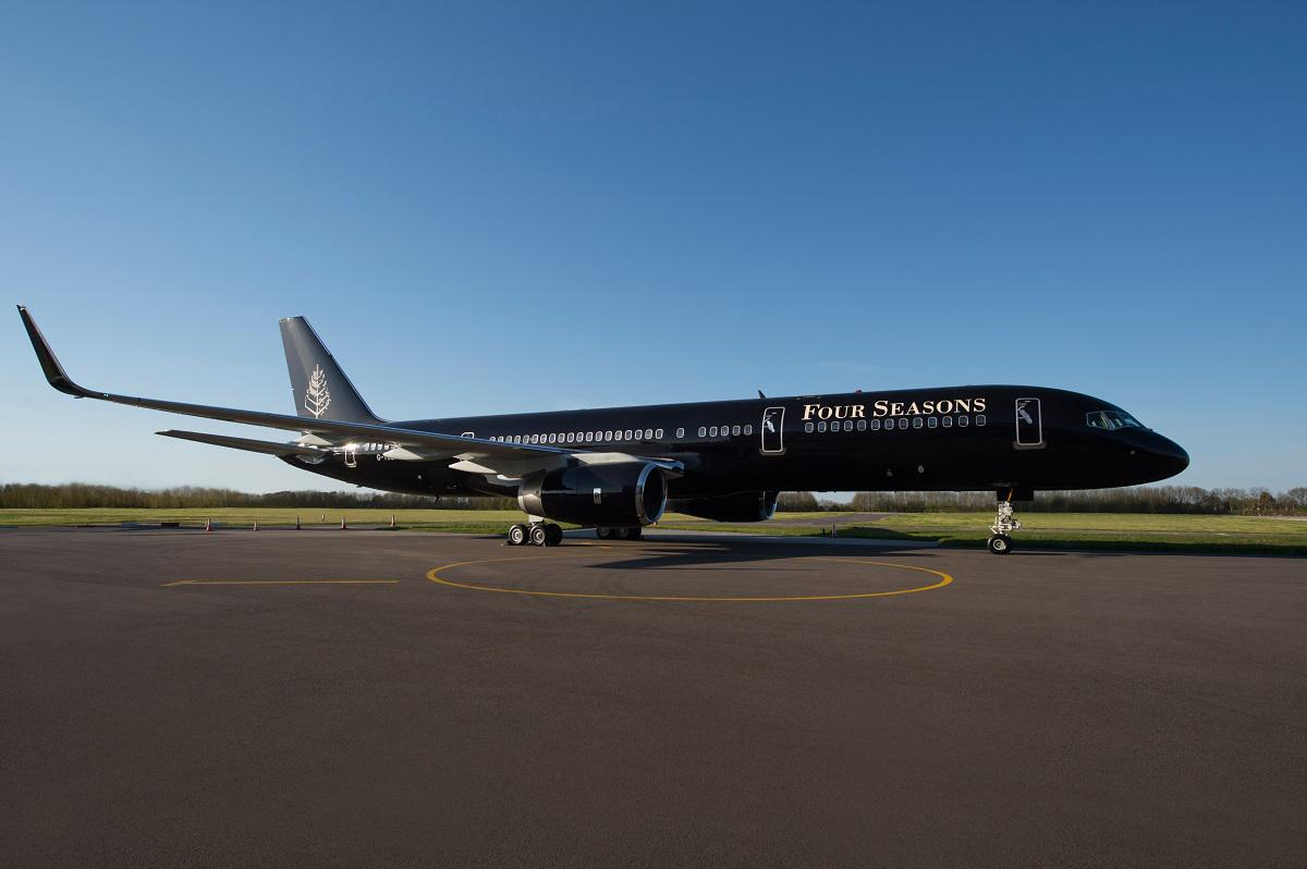The #FSJet is now boarding. Introducing an inside look at true luxury in the sky. http://t.co/Sg7elR5yQ9 http://t.co/iUYclHEMga
