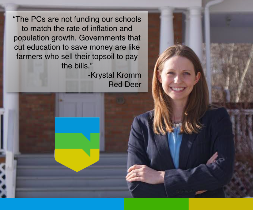 Governments who cut education to save money are like farmers who sell their top soil to pay the bills #abed #abvote http://t.co/UsDPj8Iwsv