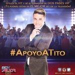¿Cuántos RTs para @TitoGomez10? Recuerda que su HT oficial de las votaciones es #ApoyoATito. | #AmoSerVIP http://t.co/p7ajaTeJ3U
