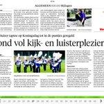 De Taptoe op Koningsdag in #Huizen, veel kijk- en luisterplezier ! http://t.co/zGo4lPf0sY