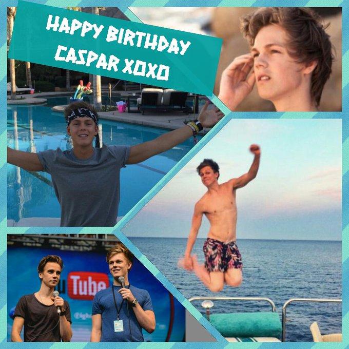 Happy birthday Caspar I love u sooo much hope u have a good day xixoxoox