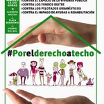 En #Madrid hoy manifestación #porelderechoatecho #stopdesahucios del sábado 25A 12h Atocha-Sol @EncarniMMSS http://t.co/T8XXQLATSR