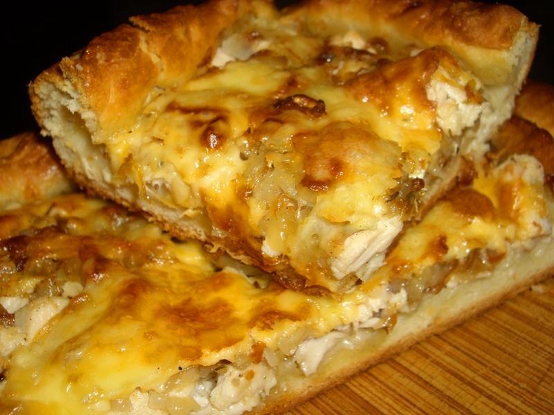 Рецепт для пирогов с курицей