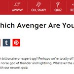 Which Avenger are you? Take the @OhMyDisney  quiz! http://t.co/jzgu4kZBUt