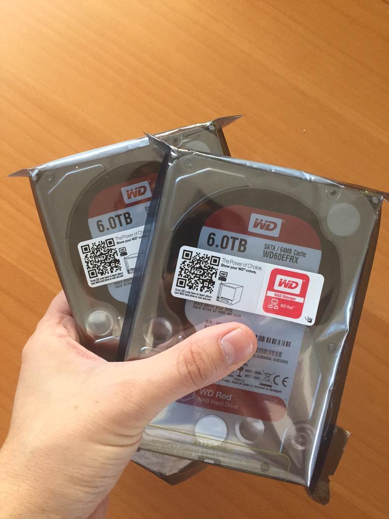 Follow @WD_FR et RT ce message pour tenter de gagner un disque dur WD Red 6 To ! #nas http://t.co/XOYjBbLmgo