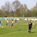 #Ajax bezig aan de voorlaatste training voor het duel met PEC. #pecaja
