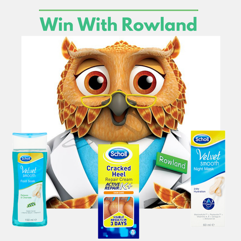 #Follow & #RT to #win a Scholl foot care kit. Competition ends Monday at 3pm. Good Luck! http://t.co/CFGGBirrtc