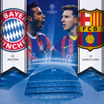 Its #FCBayern vs. @FCBarcelona in the semi-finals of the @ChampionsLeague! #UCLdraw #packmas #FCBFCB http://t.co/ako7eCKvgg