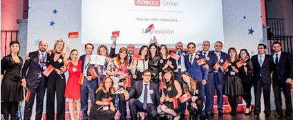 @adecco_es , elegida entre las 3mejores empresas para trabajar en España http://t.co/C8RSU9WqK9 vía @EquiposyTalento http://t.co/ngpdjGlQVh