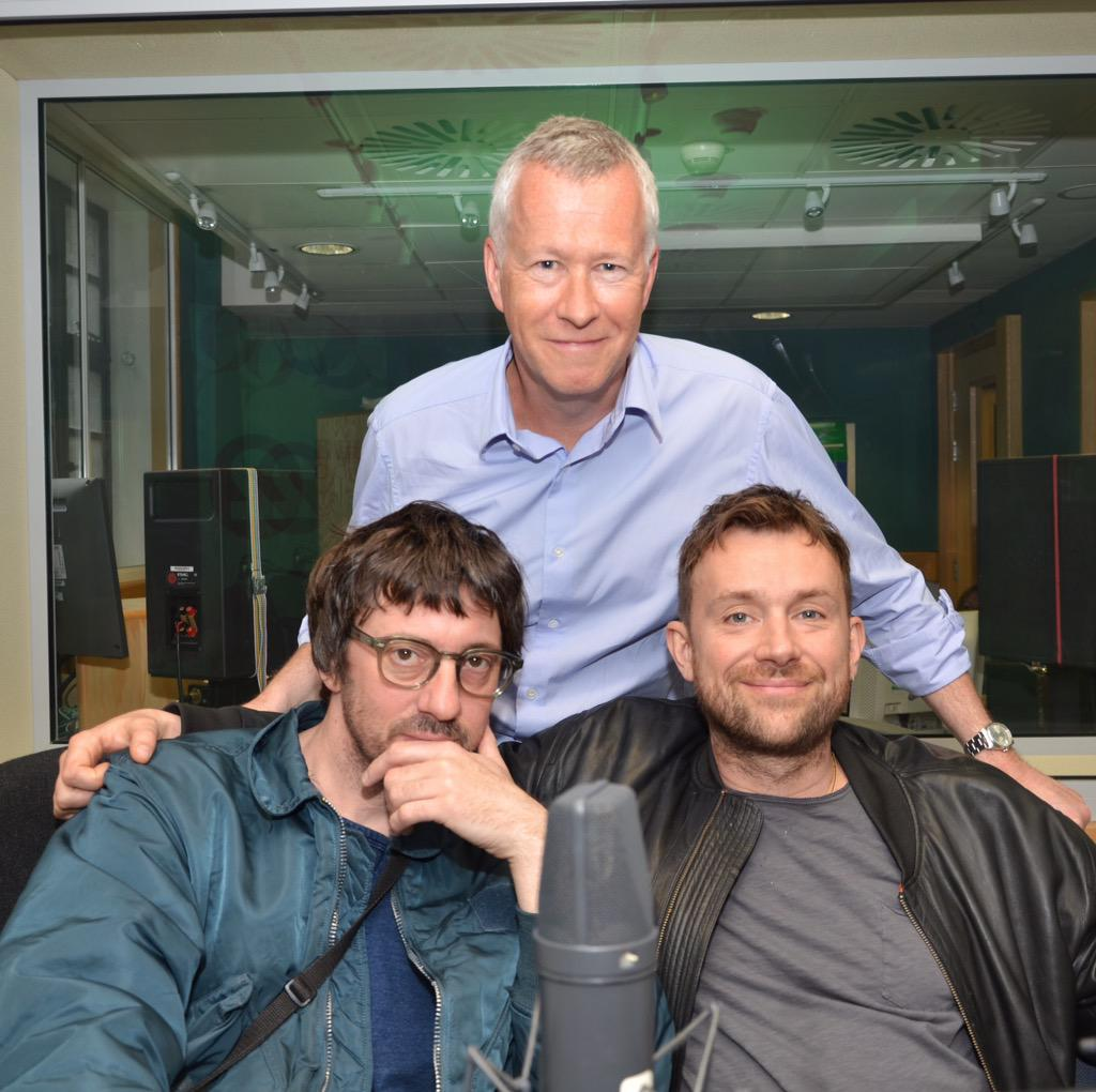 Talking @blurofficial with @DamonAlbarn & @grahamcoxon tonight @BBCFrontRow @BBCRadio4 7.15pm http://t.co/DiGubY0DVL