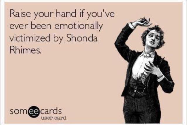 Oh @shondarhimes, I'm still distraught @GreysABC #GreysAnatomy http://t.co/37Ks7xQJVM