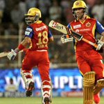 """And, Royal Challengers Bangalore win by 9 wickets! Captain #Virat remains unbeaten on 62 ❤???????? #RCBvsRR #RCB http://t.co/ZHCl6q4ZSh"""""""