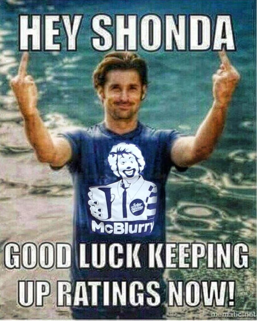 First #McSteamy, then #McDreamy, time to get #McBlurry'd !!!!! #GreysAnatomy #ExtraAnchovies http://t.co/qyYiQ1LU6T