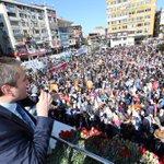 1.Bölge Adaylarımızla birlikte Sevgi Yürüyüşümüzü gerçekleştirdik.İstanbul, 7 Haziranda yeni bir tarih daha yazacak. http://t.co/iIETSsWuej