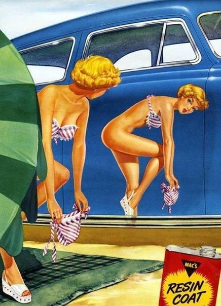 В 1957 году знали, как правильно рекламировать полироль... http://t.co/c7duL6qdV7