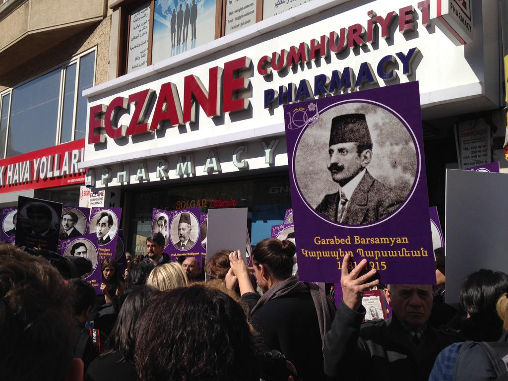 Today in Istanbul: sad stories; good people standing together for justice. #ArmenianGenocide http://t.co/gWHlCigaKj