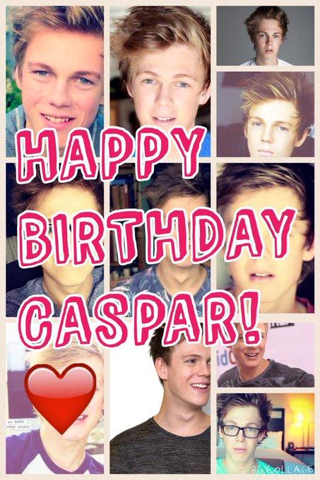 HAPPY 21st BIRTHDAY CASPAR        I LOVE YOU