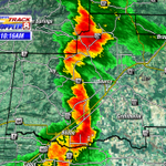 Im tracking storms moving through White County. Heavy rain, lightning and small hail (in spots) possible. #arwx http://t.co/OqDVRNJ3W9
