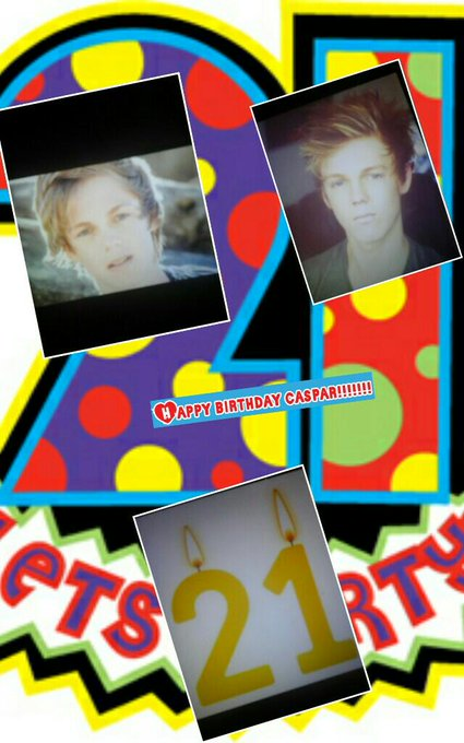 Happy birthday caspar!!!!!!!  love you soo much xxx