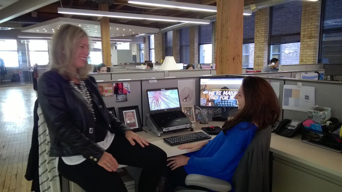 Fantastic Powerful Women Project interview with @kellywenzel of @Centro yesterday.  So motivating! http://t.co/jLSGo8xhAp