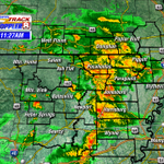 Its going to be a wet lunch break for many! #arwx #mowx http://t.co/PO7sHvbJR2
