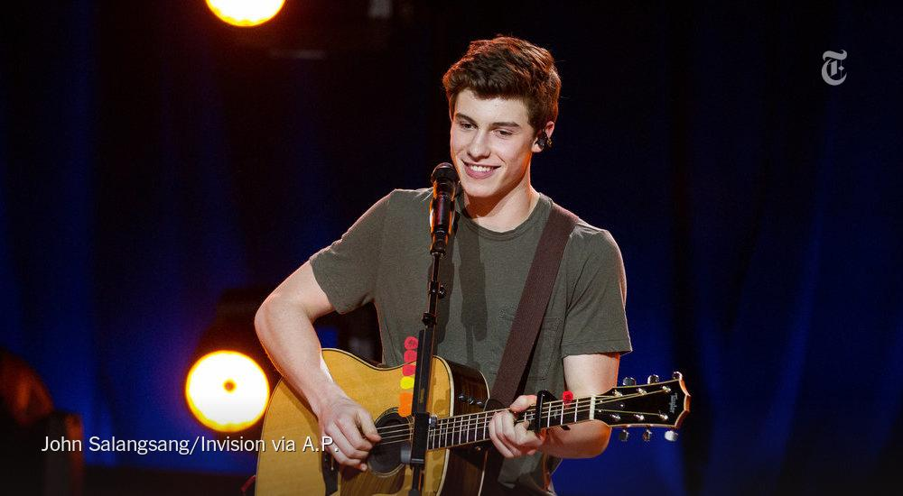Shawn Mendes once played songs 6 seconds at a time on Vine. Now he's opening for Taylor Swift http://t.co/yNSrQhDI2f