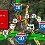 Two separate wrecks making I-240 WB a little messy during rush hour @WLOS_13 http://t.co/QOBpkFRNcv
