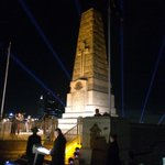 #Kingspark dawn service starting in 5 mins. #anzacday #anzacdayperth #LestWeForget @perthnow http://t.co/HfzqnHM2NJ