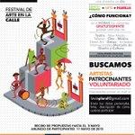 Comparte tu arte en el Festival #VíaPlural , tienes hasta el 8 de Mayo para presentar tu propuesta http://t.co/MjGUSFXVWF